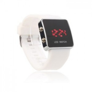 Montre Led Watch blanche