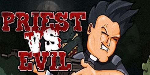 Un jeu en ligne où un prêtre affronte des zombies