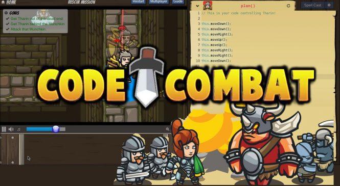 Codecombat.com : Apprendre à créer un jeu Javascript en s'amusant