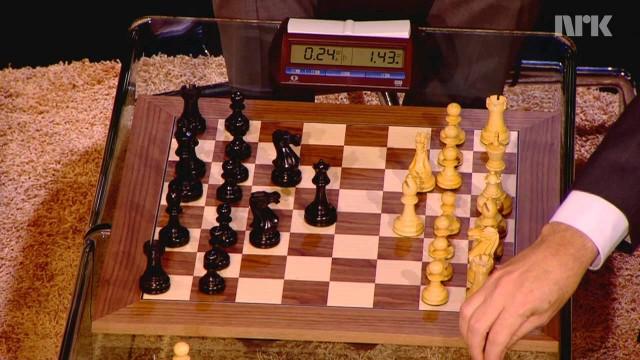 Bill Gates contre le champion du monde d'échecs