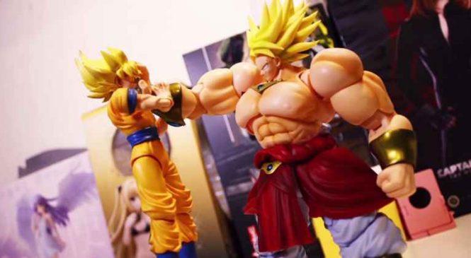 Sangoku VS Broly : Un combat épique en stop-motion