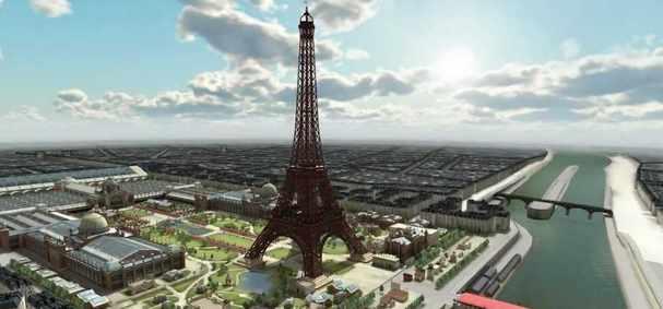 Paris 3D Saga : Une application iOS pour découvrir la capitale