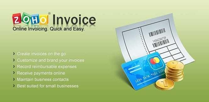 Zoho invoice: Facturation en ligne