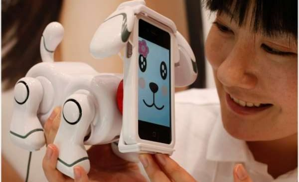 Smart Pet : Le robot chien sur iPhone