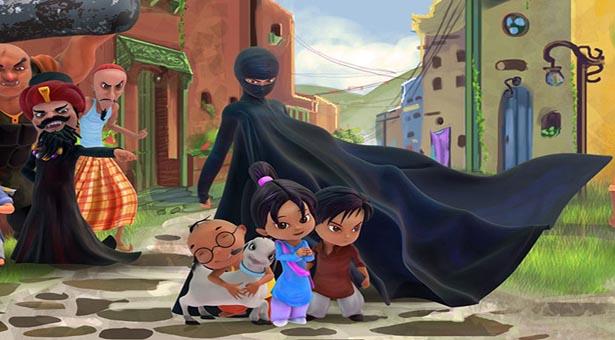Burka Avenger : Une héroine avec une Burka