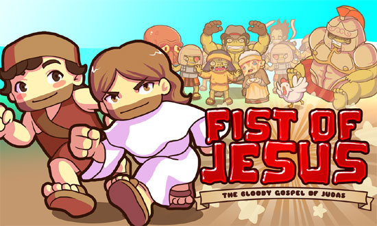 Un jeu drôle avec Jesus et des zombies