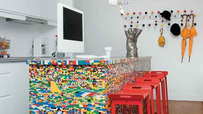 8 idées originales pour décorer votre intérieur avec des Lego