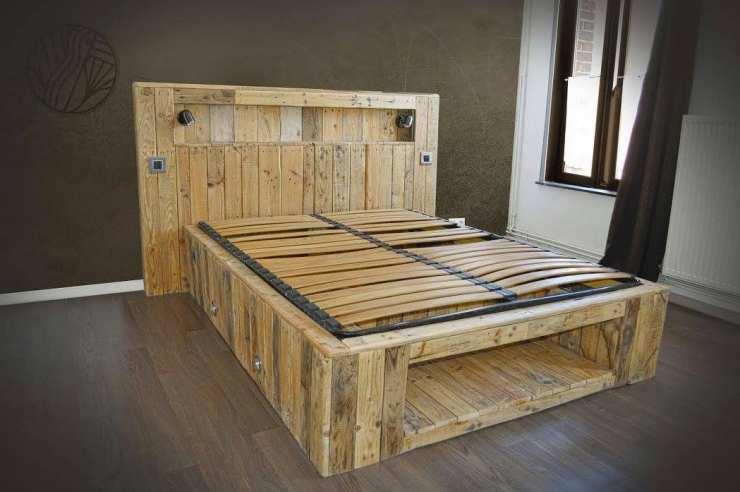 12 cr ations magnifiques de meubles avec des palettes en bois - Que faire avec des palettes bois ...