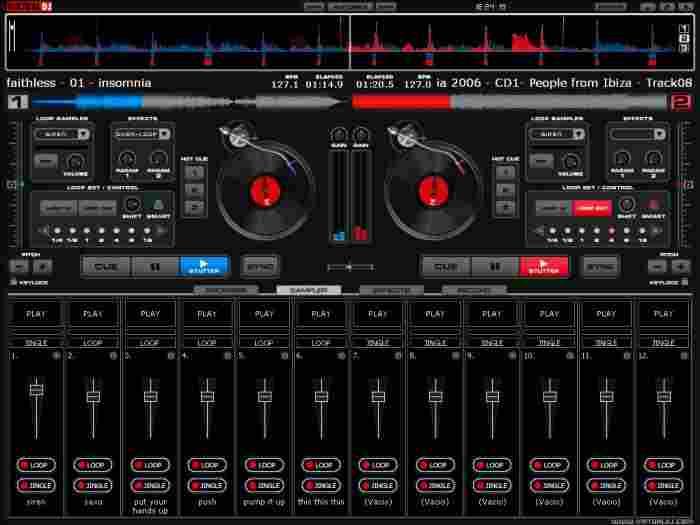 logiciel pour enchainer musique