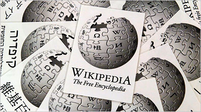 Infographie Wikipedia : Redéfinir la recherche