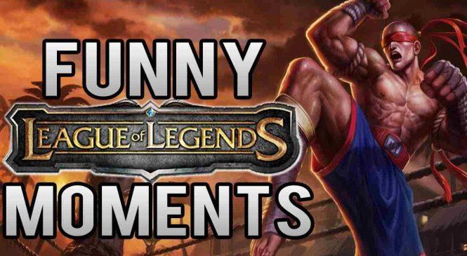 Top 5 des vidéos drôles sur League of Legends