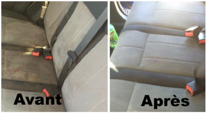 Nettoyer et remettre à neuf la banquette de sa voiture