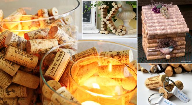 32 idées pour décorer son intérieur avec des bouchons de liège