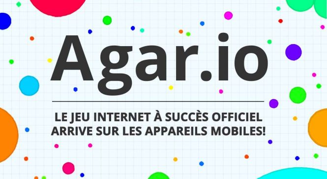 Agar.io : Un jeu de stratégie addictif et multijoueur sur Android