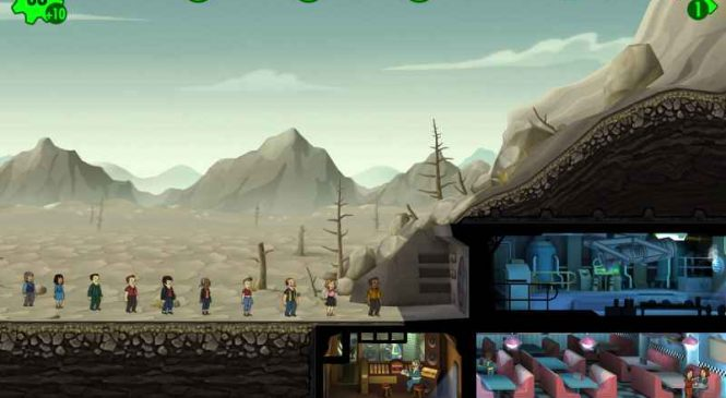 Fallout Shelter : Un super jeu de gestion sur iPhone / iPad