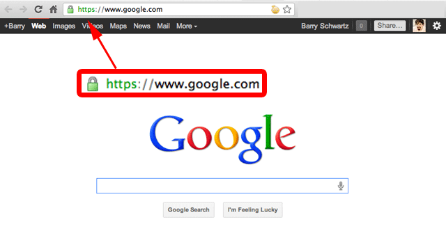 cache navigateur google