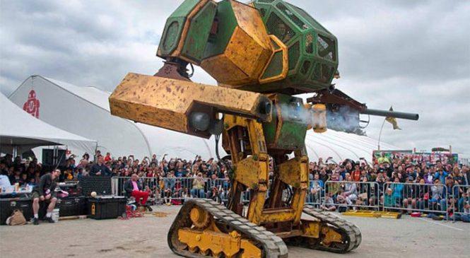 Le premier combat de robots géants entre les États-Unis et le Japon prévu pour 2016