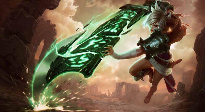 Guide de Riven dans League of Legends (Runes Maîtrises et Sorts)
