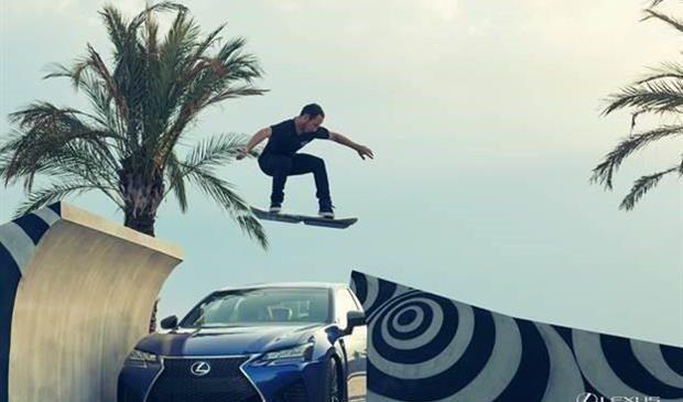 Lexus dévoile son Hoverboard (Skate Volant)