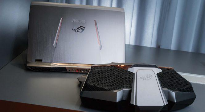 ASUS ROG GX 700 : Un PC portable hallucinant pour les gamers