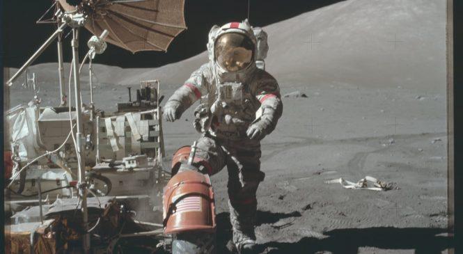 Les missions Apollo sur la Lune en stop-motion