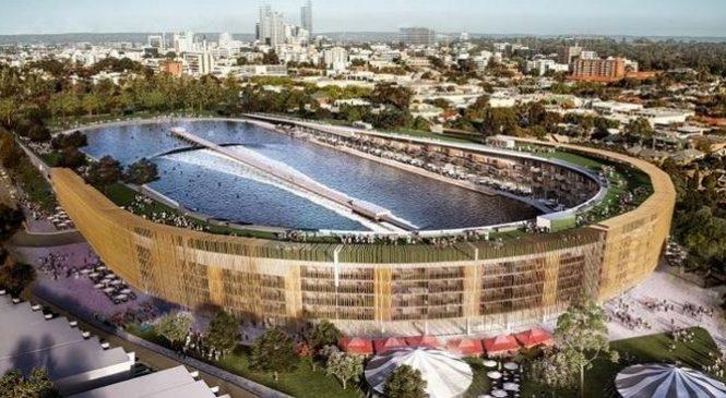 Australie : transformation d'un stade de foot en piscine à vagues