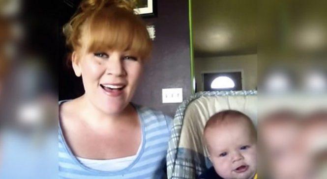 Elle chante «Hallelujah» pour son bébé, sa voix est juste magnifique