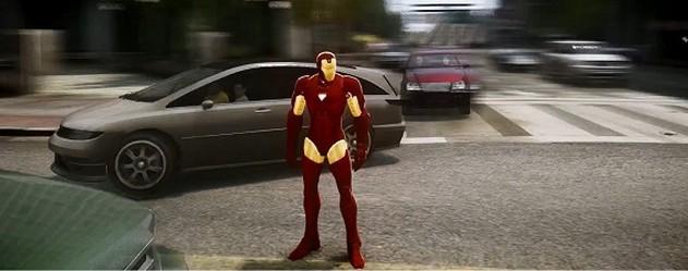 Jouer à Iron Man dans le jeu GTA V