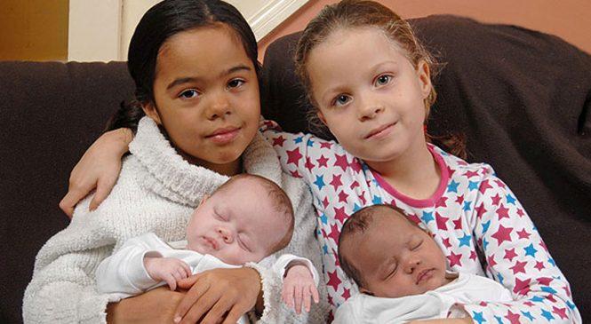 Ces quatre petites filles font parties des êtres humains les plus rares de notre planète!