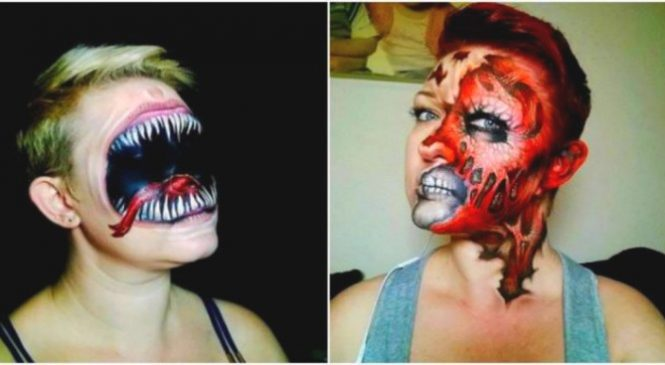 22 maquillages flippants pour Halloween