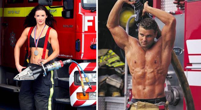 10 pompières tellement HOT qu'il a fallu appeler 15 pompiers pour régler ça!