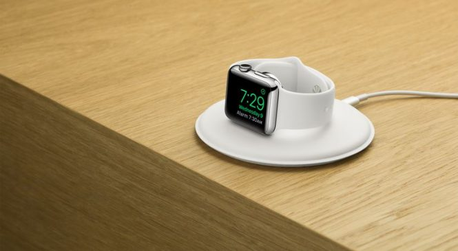 Le dock officiel pour Apple Watch est enfin disponible