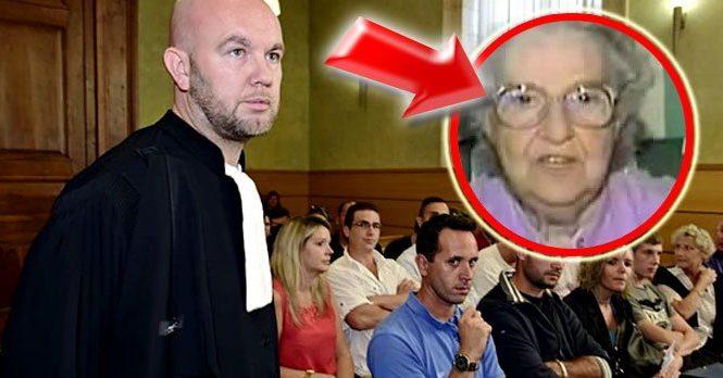 Cette vielle dame se fait poser une question par un avocat…Attendez de voir ce qu'elle a répondu ! Même le juge n'en revient pas !