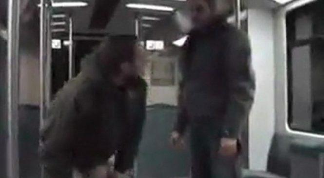Comment calmer un petit con qui agresse les gens dans le métro ?