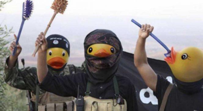 Les membres du forum 4chan ridiculise Daesh avec des canards jaunes
