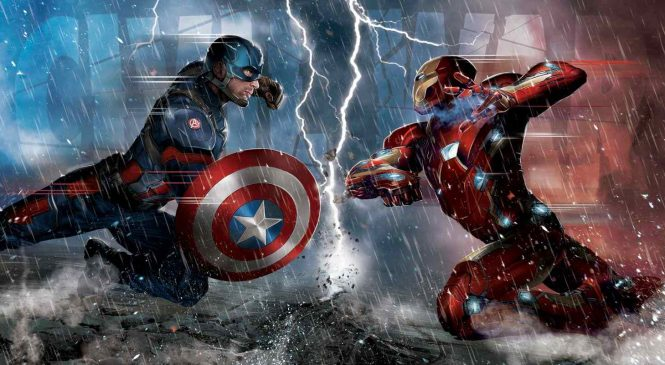 La bande annonce exceptionnelle de Captain America Civil War