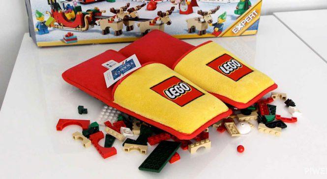 LEGO propose de gagner des chaussons pour marcher sur des briques sans se faire mal