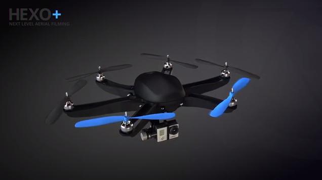 HEXO+ commercialise le premier drone autonome