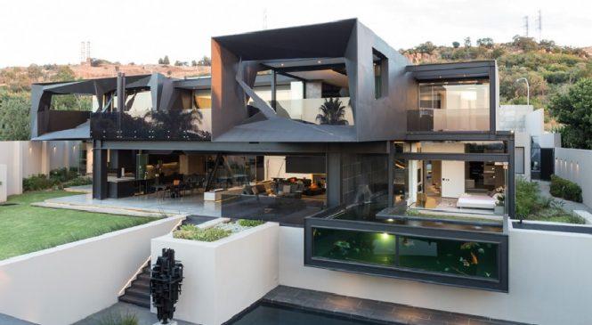 La maison dans laquelle toutes les pièces donnent sur l'extérieur
