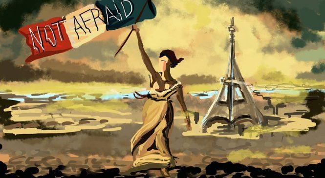 Les dessinateurs français rendent hommage aux victimes des attentats