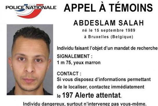 Attentats à Paris : La police lance un mandat de recherche
