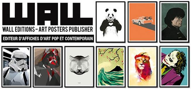 Des posters insolites et originaux à découvrir sur Walleditions.com