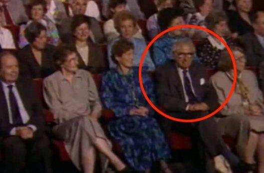 Il a sauvé 669 enfants pendant l'Holocauste…et il ne sait pas qu'ils sont tous assis à côté de lui