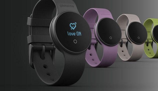 La montre connectée Geeks!me mesure vos performances sexuelles