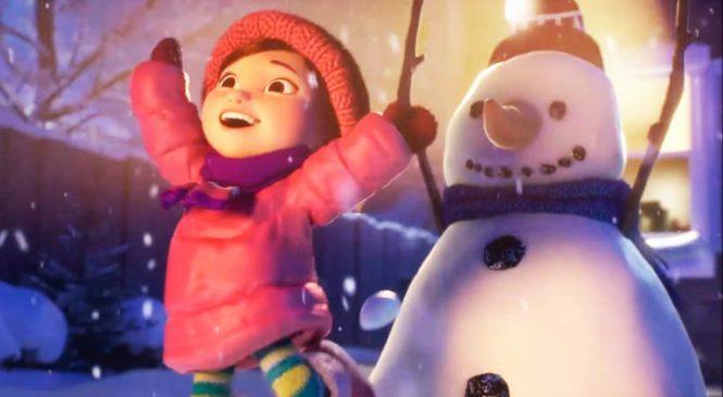 Lily and the Snowman – Un court métrage adorable pour célébrer Noël