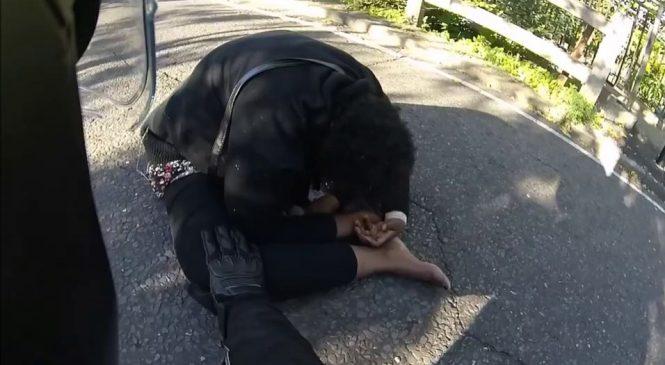 Un motard sauve une femme suicidaire