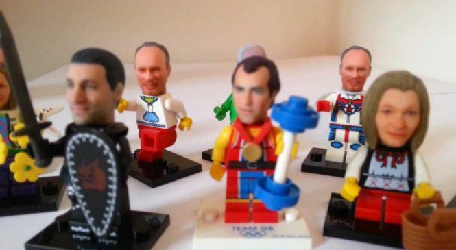 Il est possible d'avoir sa propre tête en Lego !