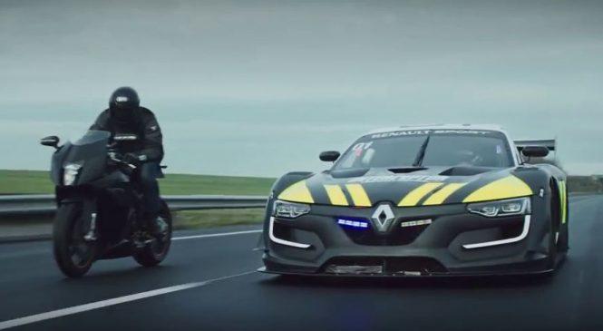 Renault Sport RS 01, la future voiture de sport de la gendarmerie ?