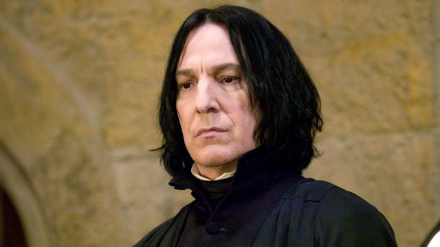 Mort d'Alan Rickman, le professeur Rogue dans Harry Potter