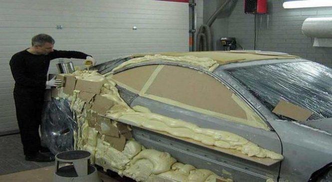 Il transforme sa vieille Mercedes en une voiture de sport unique en son genre